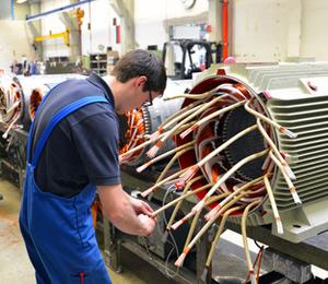 Instandsetzung und Wartung für Elektromotoren
